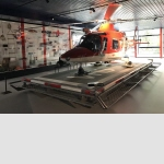 "Agusta A 109 K2, Italy 1993Twin-engine rescue helicopterFrom 1991–1995, Rega commenced operations with 15 Agusta A 109 K2 helicopters. They replaced the 12 Alouette III SA 319 B and three Bölkow Bo 105 CBS helicopters. This meant that Rega's helicopter fleet now comprised a single type.The helicopter with serial number 10007 and registration number HB-XWG went into service on 2 June 1993 and was deployed to help people in distress until January 2010. The ""Golf"" was stationed at Rega's Engadine base ni Samedan.The Agusta was equipped with two powerful engines, which made it possible to also perform missions in high mountain regions. Moreover, in an emergency, the helicopter could continue flying with only one engine running – a significant step forward compared to the single-engine Alouette III.Part of the Agusta A 109 K2 helicopter fleet was replaced in 2003, when Rega's lowland bases in Lausanne, Bern, Basel and Zurich were equipped with Airbus Helicopters EC 145 helicopters. From 2009, 11 AgustaWestland Da Vinci helicopters succeeded the A 109 K2 as Rega's mountain helicopter type."